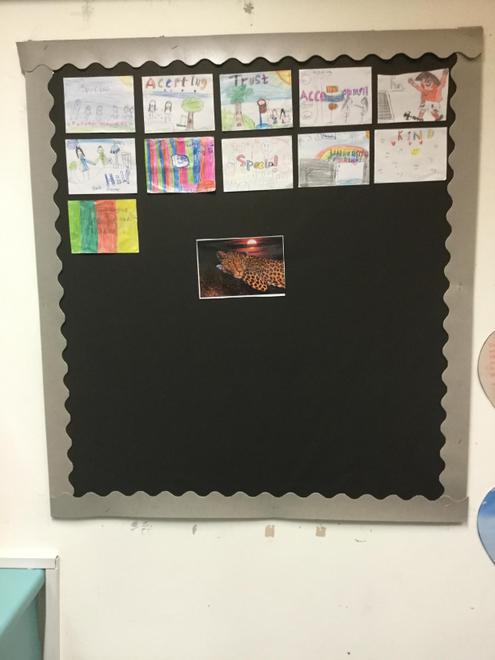 Our class display so far
