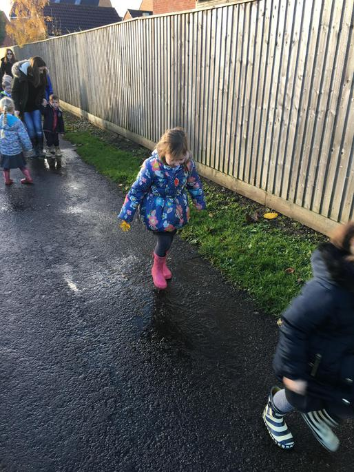Who else loves jumping in muddy puddles?!