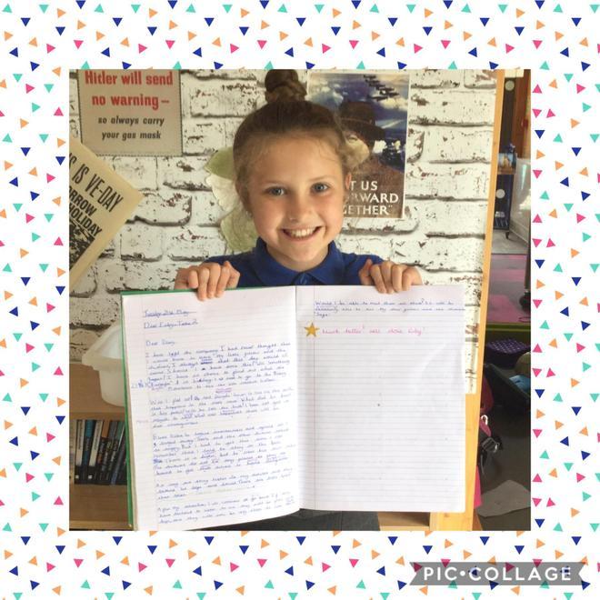 Fabulous diary entry!
