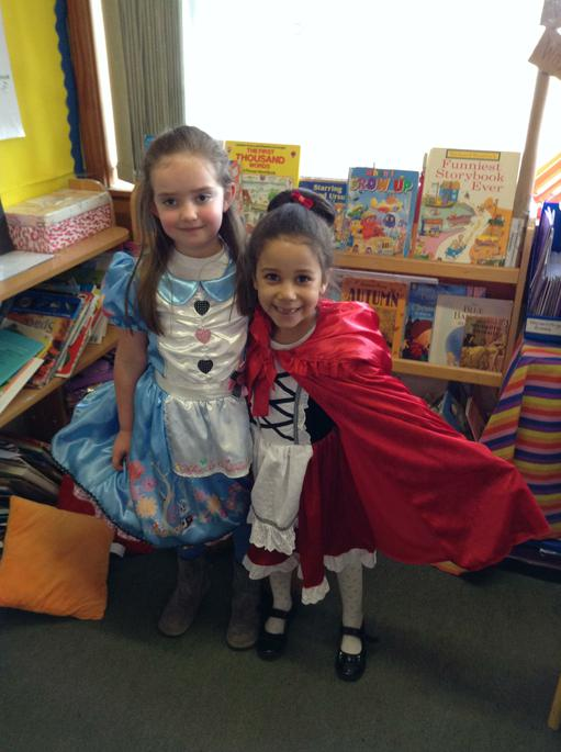 Alice and Little Red Riding Hood