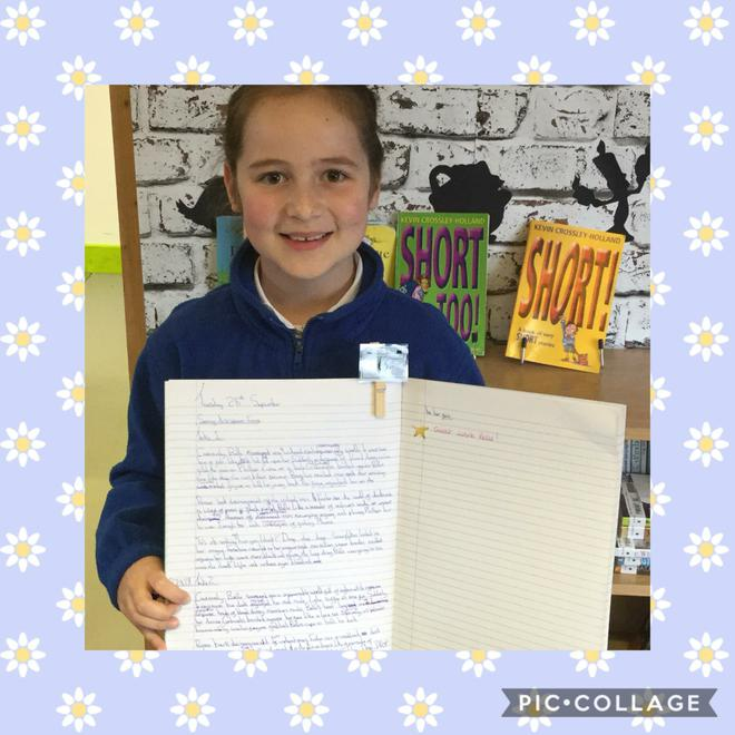 Wonderful setting descriptions from Year 5 and 6!