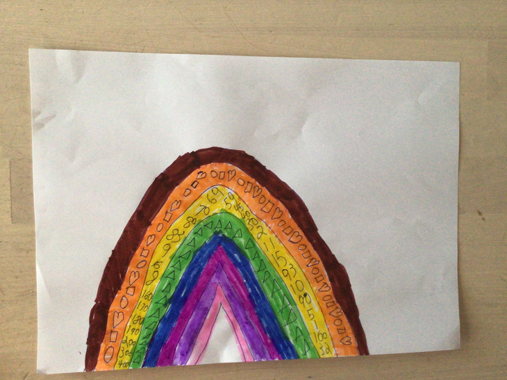 Isaac's rainbow