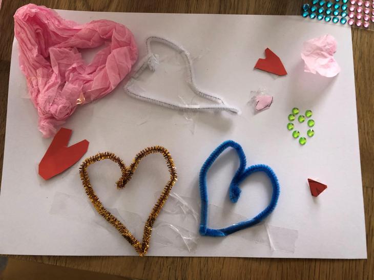 Jessica R's hearts