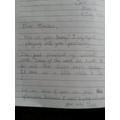 Marta's letter