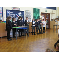 Class 4 composed music in response to spells