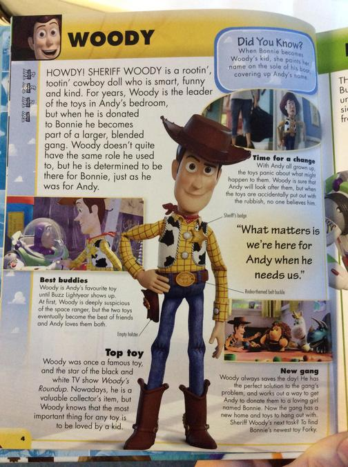 WOODY TEXT