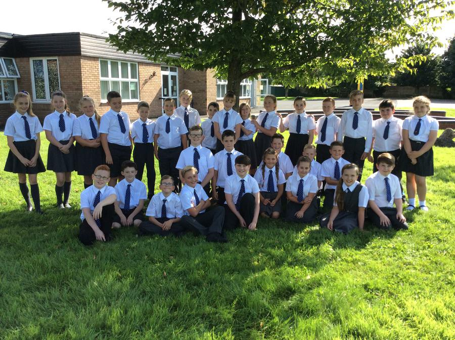 Our wonderful Year Six class