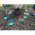 Creating a woodland feast