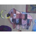 Class art mammoth project!