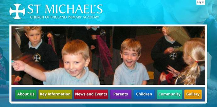 Picture of St Michael's Church of England Primary Academy website