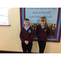 Primary 7 class reps