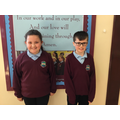 October's Head Boy and Head Girl