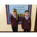 November's Head Boy and Head Girl