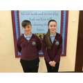 December's Head Boy and Head Girl