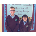 September's Head Boy and Head Girl