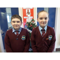 Our December Head Boy and Head Girl