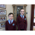 Our January Head Boy and Head Girl