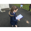 We had an 'Earth Day' nature hunt.