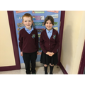 Mrs Reavey's class reps
