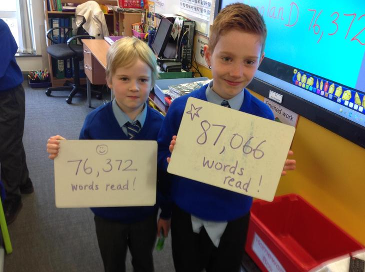 Highest word counts!