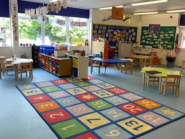 Reception A Classroom