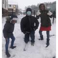 Kezia in the Snow