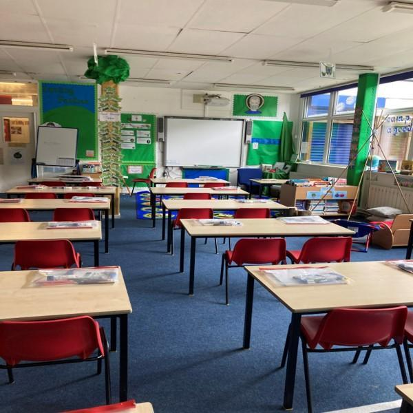 Year Two classroom