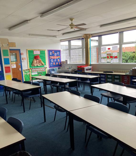 Year Four classroom