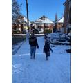 Maraya in the Snow