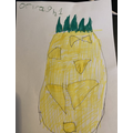 Orlagh's (Y1 guest star) Pineapple