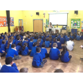 A Whole School assembly from visiting speaker Katy