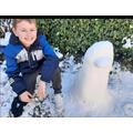 Ewan in the Snow