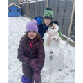 Toby and Orlagh's Snowman
