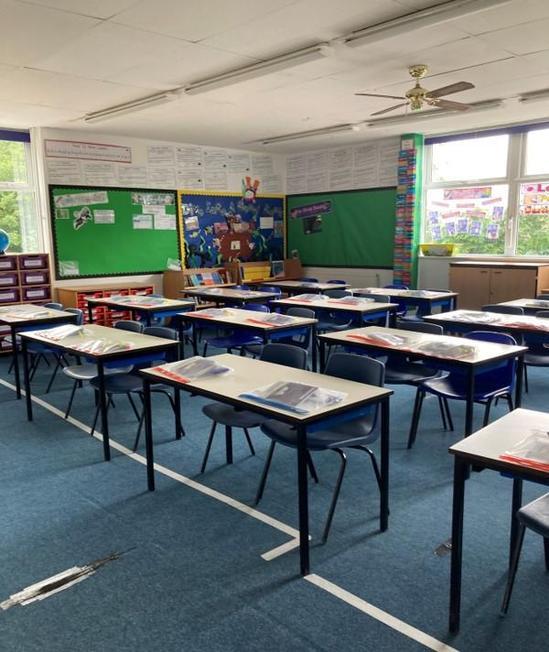 Year Six classroom