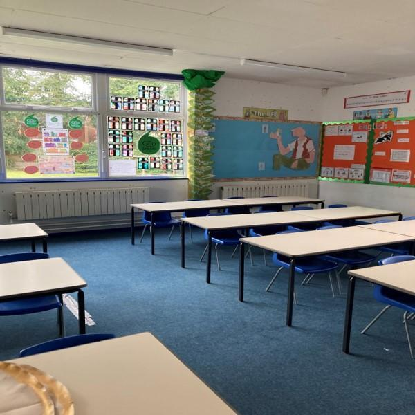 Year Three classroom