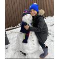 Harrison's Snowman