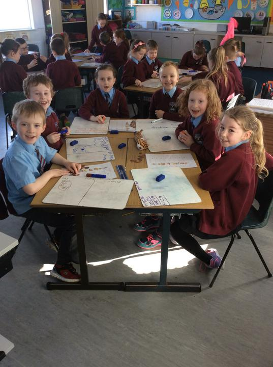 It was all smiles in Year 3 on World Maths Day! �