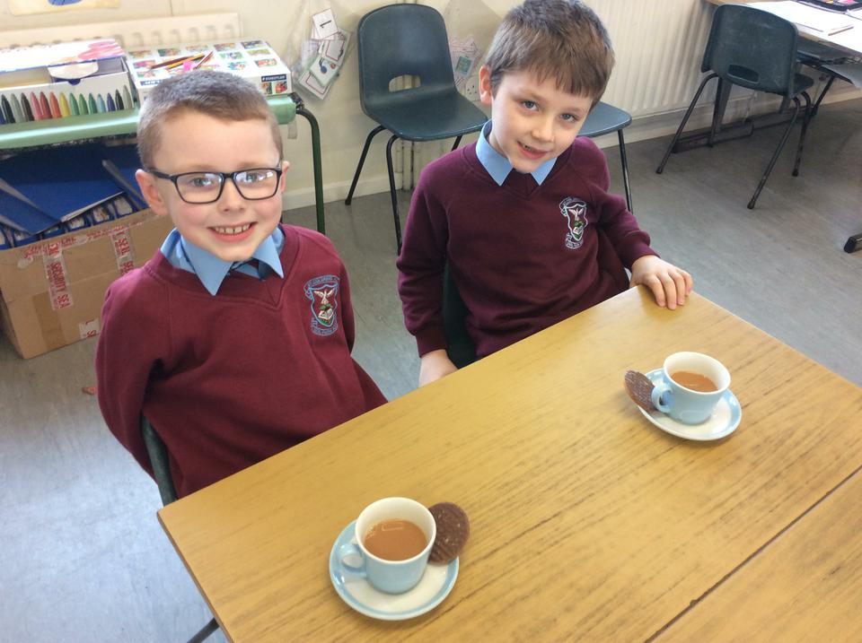 We learned all about the journey of tea in Year 3.