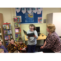 Year 6 visited Kilrea Library on World Book Day.