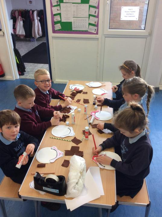 Together we created Paddington puppets!
