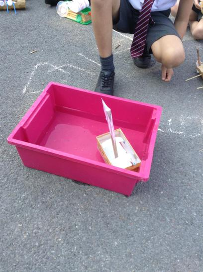 Testing our longships