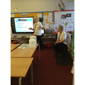 Phil & Penelope from WaterAid explained their work