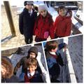 Making number pairs using snow balls!