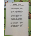 Spring song-Musical instruments activity