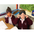 Inventor masks for role play!