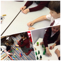 Retelling stories using small world toys