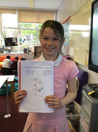 Caitlin wrote well about the geocentric model