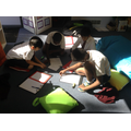 We are loving flexible seating.