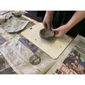 Creating Anglo-Saxon clay pots