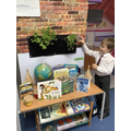 Looking after our plants.